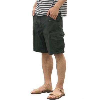 USタイプ「M-65」フィールドショート丈パンツ ブラック メンズ Mサイズ 【レプリカ】