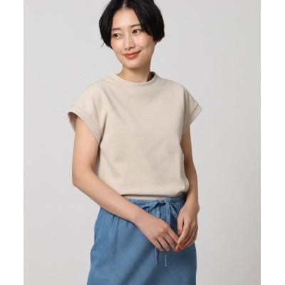 UNTITLED(アンタイトル) 「L」【洗える】テックリノジャージフレンチTシャツ