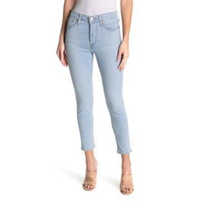 リーバイス レディース デニムパンツ ボトムス Wedgie Skinny Stretch Jeans OPAL SHIMMER