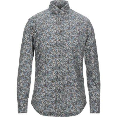バストンチーノ BASTONCINO メンズ シャツ トップス Patterned Shirt Khaki