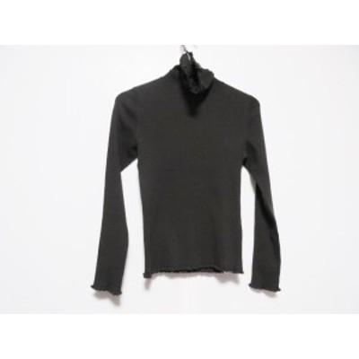 トゥービーシック TO BE CHIC 長袖セーター サイズ2 M レディース - ダークブラウン タートルネック【中古】20201107