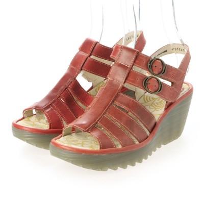 ヨーロッパコンフォートシューズ EU Comfort Shoes サンダル (レッド)