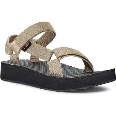 テバ Teva レディース サンダル・ミュール シューズ・靴 Midform Universal Sandals Metallic Champagne