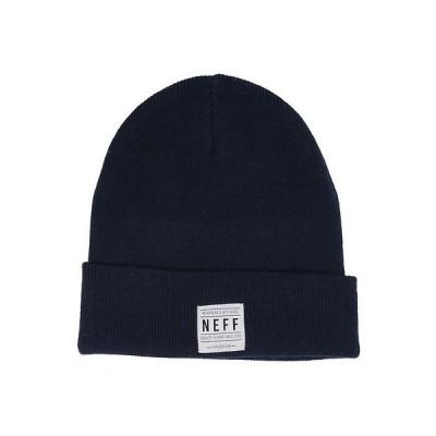 帽子 ネフ Neff Lawrence Merino ビーニー ネイビー ワンサイズ