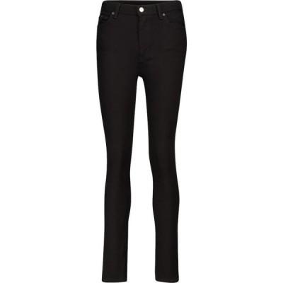 アクネ ストゥディオズ Acne Studios レディース ジーンズ・デニム ボトムス・パンツ Peg high-rise skinny jeans Black