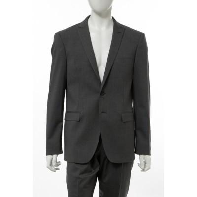 ハイドロゲン ジャケット ノッチドラペル センターベント セットアップ上下別売 メンズ 250H02 グレー HYDROGEN