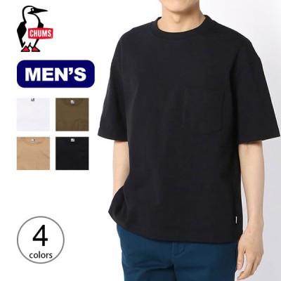 CHUMS チャムス ヘビーウエイトポケットTシャツ メンズ トップス Tシャツ アウトドア