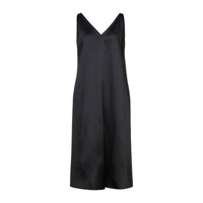 ジョゼフ JOSEPH 7分丈ワンピース・ドレス ブラック 44 アセテート 73% / レーヨン 27% / シルク 7分丈ワンピース・ドレス