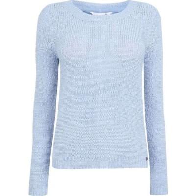 オンリー Only レディース ニット・セーター トップス Knitted Jumper Cashmere Blue