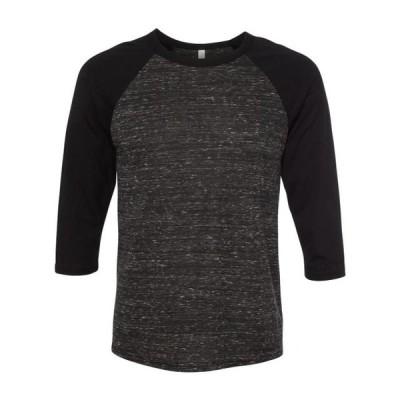 ユニセックス 衣類 トップス BELLA + CANVAS - Unisex Three-Quarter Sleeve Baseball Tee BELLA + CANVAS - NIB グラフィックティー