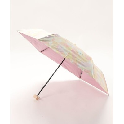 Three Four Time / 遮光ペールペイント晴雨兼用折傘 WOMEN ファッション雑貨 > 折りたたみ傘