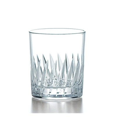 ロックグラス フェザーカット オンザロック 245ml 東洋佐々木ガラス製