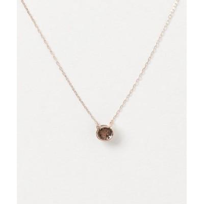 L&Co. / K10 カラーストーン モチーフ ネックレス WOMEN アクセサリー > ネックレス