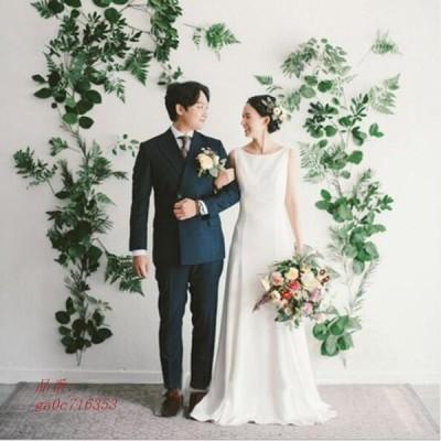 挙式 結婚式 花嫁 おしゃれ ウェティグドレス Aラインドレス パーティードレス 前撮り 二次会 発表会 大きいサイズ ロングドレス 安い ワンピース