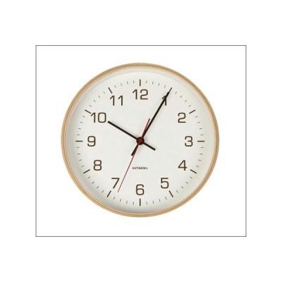 インテリア時計 木製 壁掛け時計 plywood wallclock 4 ナチュラル