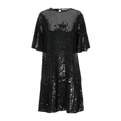 ツインセット シモーナ バルビエリ TWINSET ミニワンピース&ドレス ブラック 38 ポリエステル 100% ミニワンピース&ドレス