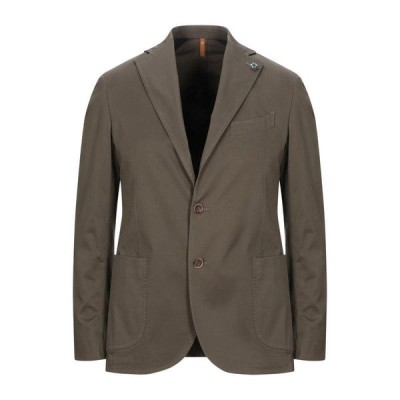 GABARDINE テーラードジャケット ファッション  メンズファッション  ジャケット  テーラード、ブレザー ミリタリーグリーン
