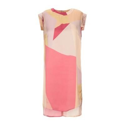 メルシー ..,MERCI ミニワンピース&ドレス ローズピンク 44 ポリエステル 100% ミニワンピース&ドレス