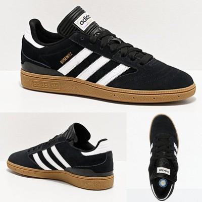 Adidas/アディダス adidas スニーカー メンズ ホワイト ブラック Busenitz Black White Gum Shoes