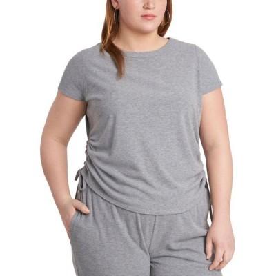 ワンステイト レディース シャツ トップス Plus Size Side-Ruched T-Shirt