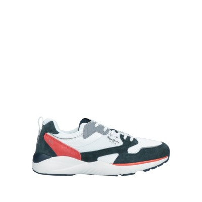 ペペ ジーンズ PEPE JEANS スニーカー&テニスシューズ(ローカット) ホワイト 40 紡績繊維 / 革 スニーカー&テニスシューズ(ローカ