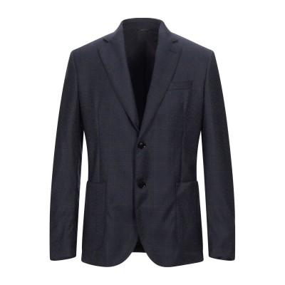アレッサンドロデラクア ALESSANDRO DELL'ACQUA テーラードジャケット ブルーグレー 50 バージンウール テーラードジャケット