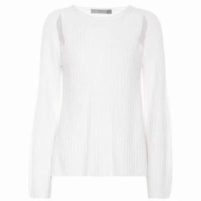 ヴィンス ニット・セーター Cashmere sweater White