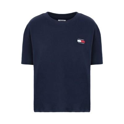 TOMMY JEANS T シャツ ダークブルー XS 再生コットン 50% / ポリエステル 50% T シャツ