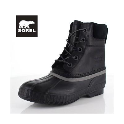 ソレル SOREL NM2575 010 メンズ ブーツ シャイアン II Cheyanne II ブラック 防水 保湿性 防寒 防滑 ハイカット セール