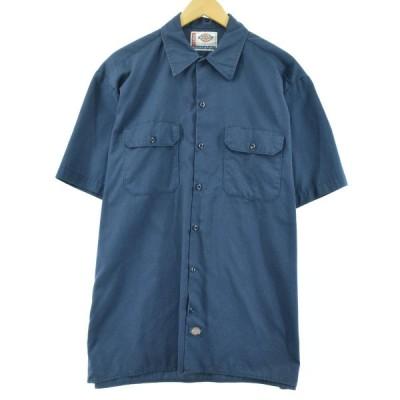 ディッキーズ Dickies 半袖 ワークシャツ メンズXL /eaa054468