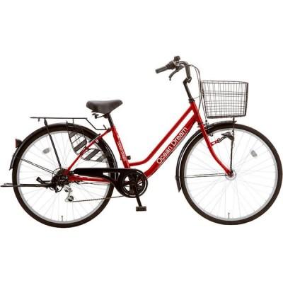 シティサイクル シオノ オーシャンドリーム 26 外装6段 オートライト (カーディナルレッド) 2020 SHIONO OCEAN KARA DREAM 266 塩野自転車
