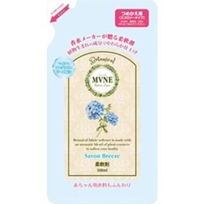 ミューネ 柔軟剤 シャボンブリーズの香り つめかえ用 (500ml)