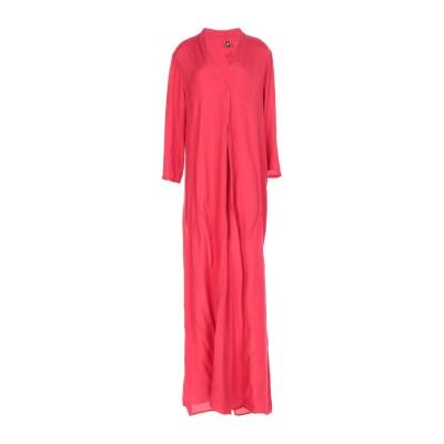 EUROPEAN CULTURE ロングワンピース&ドレス レッド XS 100% レーヨン ロングワンピース&ドレス