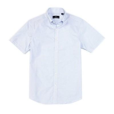 ハート シャフナー マルクス メンズ シャツ トップス Short Sleeve Dobby Check Sportshirt