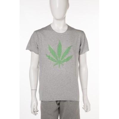 ルシアンペラフィネ lucien pellat-finet Tシャツ グレー メンズ (EVU2004) 2018年春夏新作 送料無料 2018SS_SALE