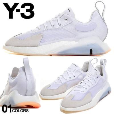 Y-3 メンズ スニーカー ワイスリー メッシュアッパー レザー 白スニーカー ORISAN WHITE ブランド シューズ 靴 革 YOHJI YAMAMOTO Y3FX1412