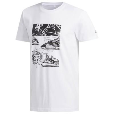【即納】アディダス Adidas メンズ Tシャツ トップス TMac MZ T-Shirt Tracy Mcgrady White