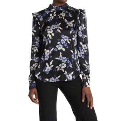 ヴェロニカ ベアード レディース シャツ トップス Carleton Floral Silk Blend Blouse BLACK MULTI