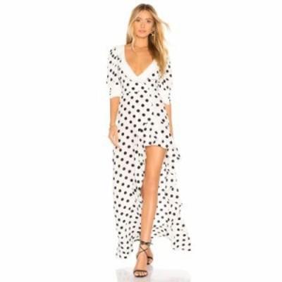 フォーラブアンドレモン ワンピース Lexington Maxi Dress Dot
