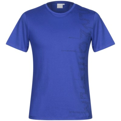 PRIMO EMPORIO T シャツ ブライトブルー XXL コットン 100% T シャツ