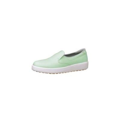 ミドリ安全 ハイグリップ作業靴 H-700N 27.5cm グリーン SKT4359