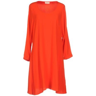 アメリカン ヴィンテージ AMERICAN VINTAGE ミニワンピース&ドレス オレンジ XS/S レーヨン 100% ミニワンピース&ドレス