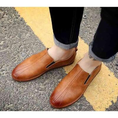 ローファー メンズ カジュアル 靴 ブランド 革 タッセル レザー