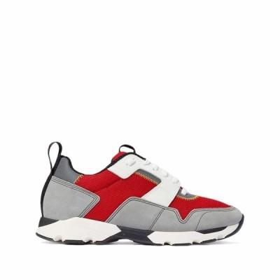 マルニ スニーカー シューズ メンズ Classic Sport Sneaker Orange/Red/Grey