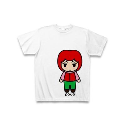 女の子 Tシャツ(ホワイト)