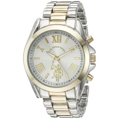 ユーエス ポロ アッスン U.S. Polo Assn. 女性用 腕時計 レディース ウォッチ シルバー USC40117