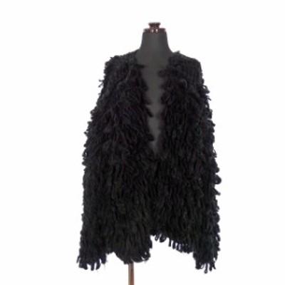 【中古】スライ SLY 16AW VOLUME LOOP LG COAT ボリューム ループコート ジャケット 長袖 F ブラック 黒