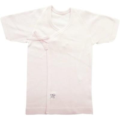 村信 ラ・モルフェ加工 スムース(厚手) 新生児肌着5点セット 50cm ~ 60cm ピンク NL20000-5 日本製