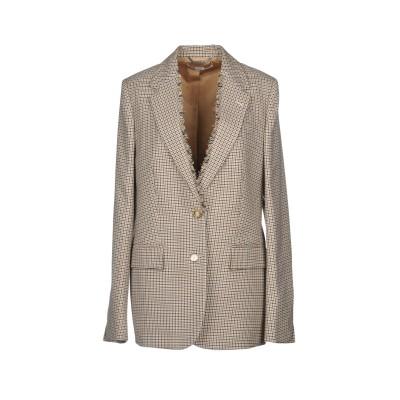 ステラ マッカートニー STELLA McCARTNEY テーラードジャケット ベージュ 44 100% ウール テーラードジャケット