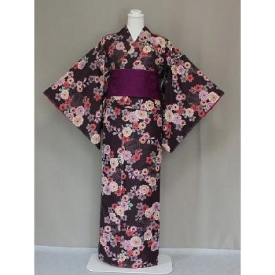 着物 仕立上り着物 高級ブランド R-KIKUCHI おしゃれな 袷 仕立て着物 小紋 送料無料 W0453-08